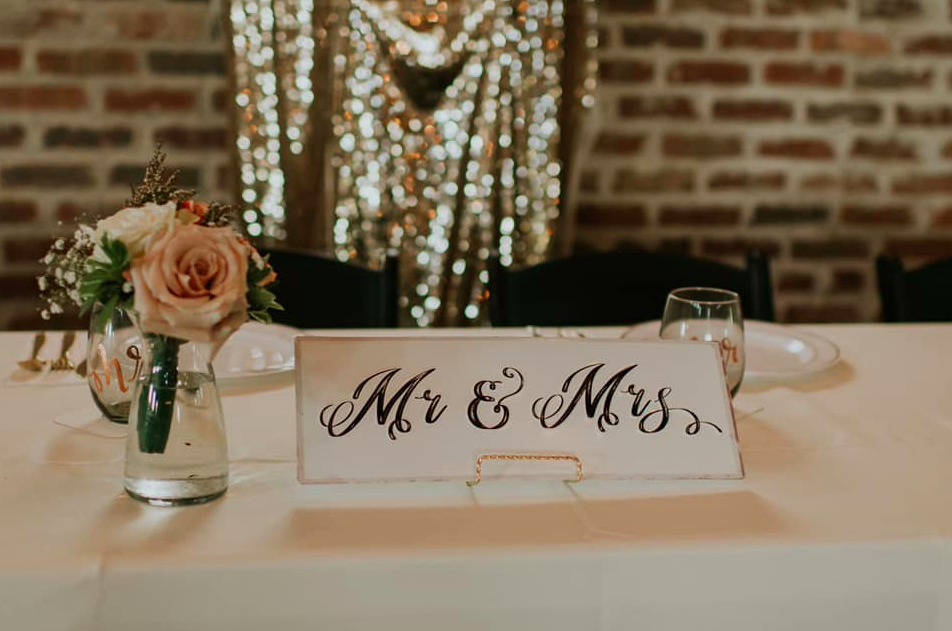 Hiatt Wedding Head Table