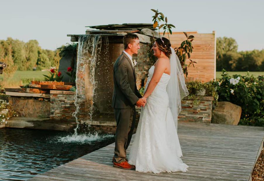 Hiatt Wedding Pond