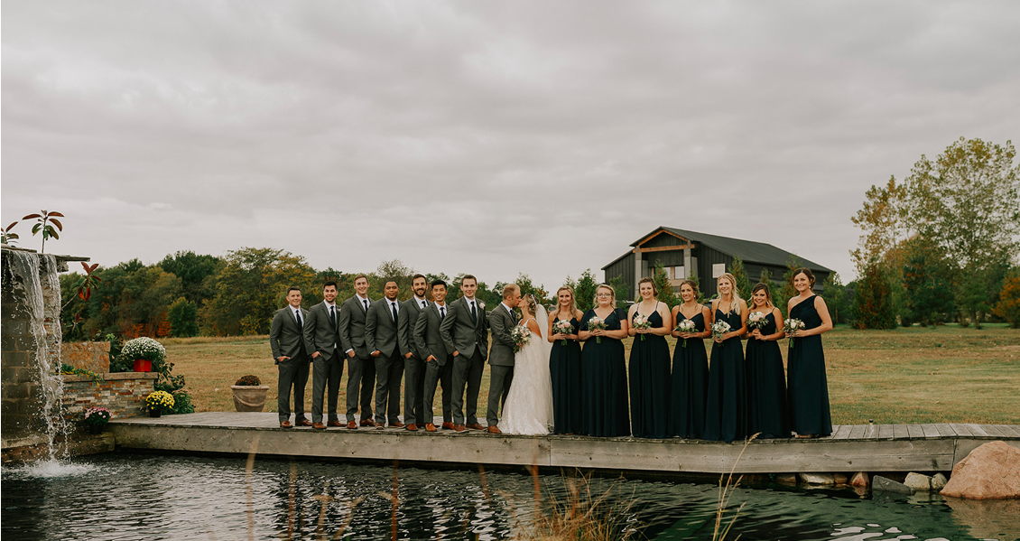 The Browns Bridal  Party Pond