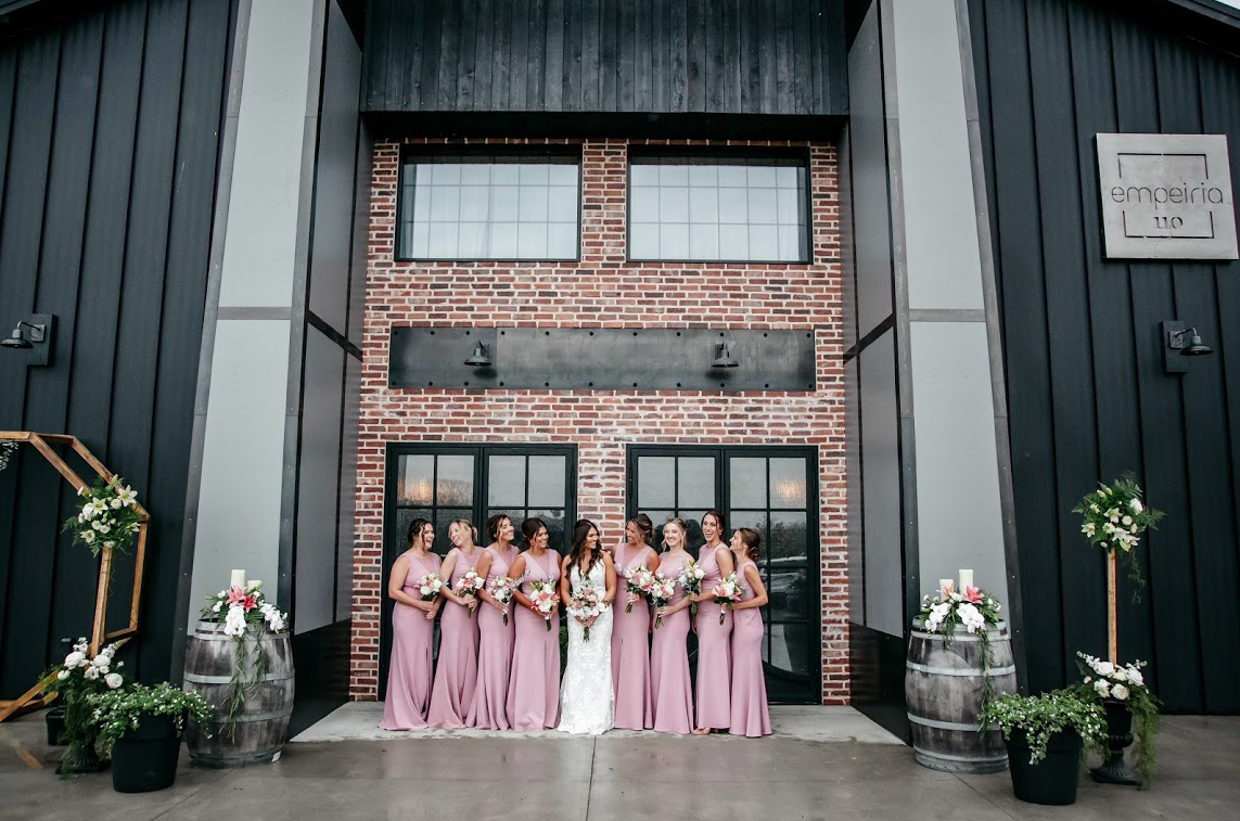 Cummins Bridesmaid front entrance