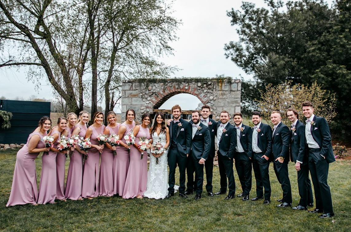 Cummins Bridal Party Fountain