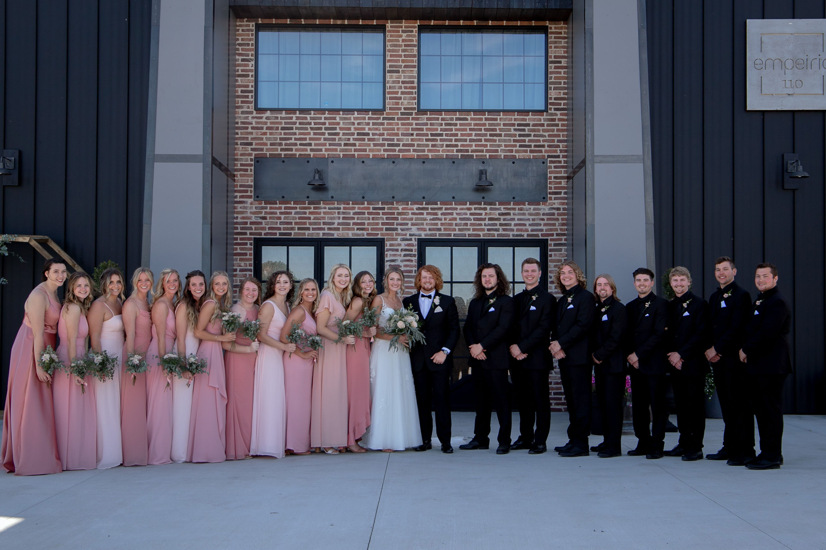 Ritter Bridal Party Front