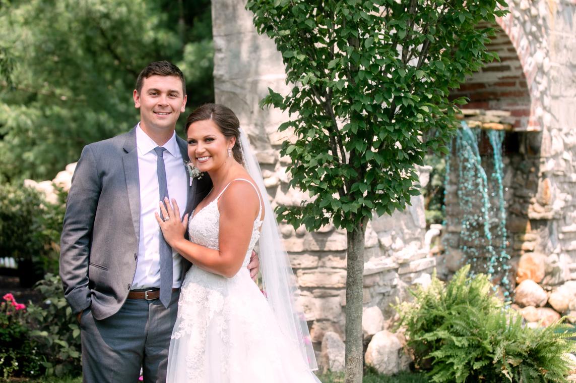 Brickner Mr & Mrs and Fountain