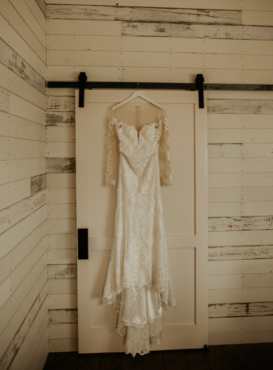 Glass Dress Hanging