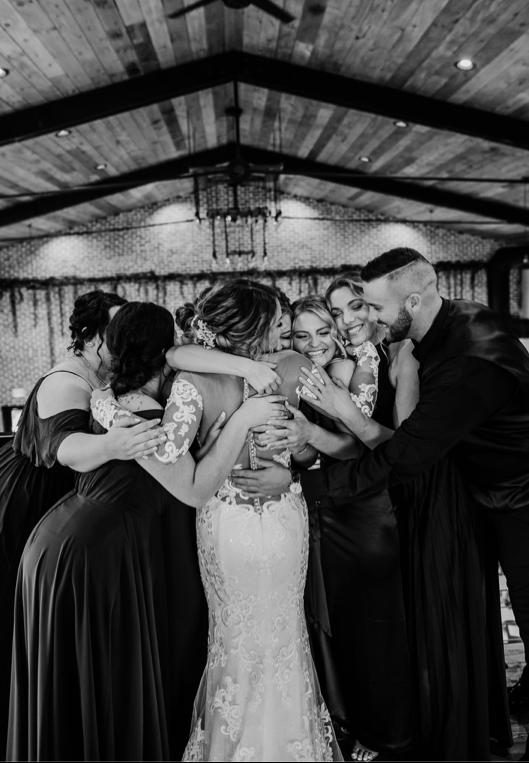 Glass Bridesmaids