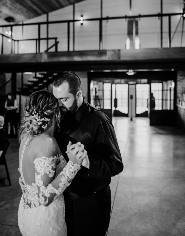 Mr and Mrs Glass 1st dance