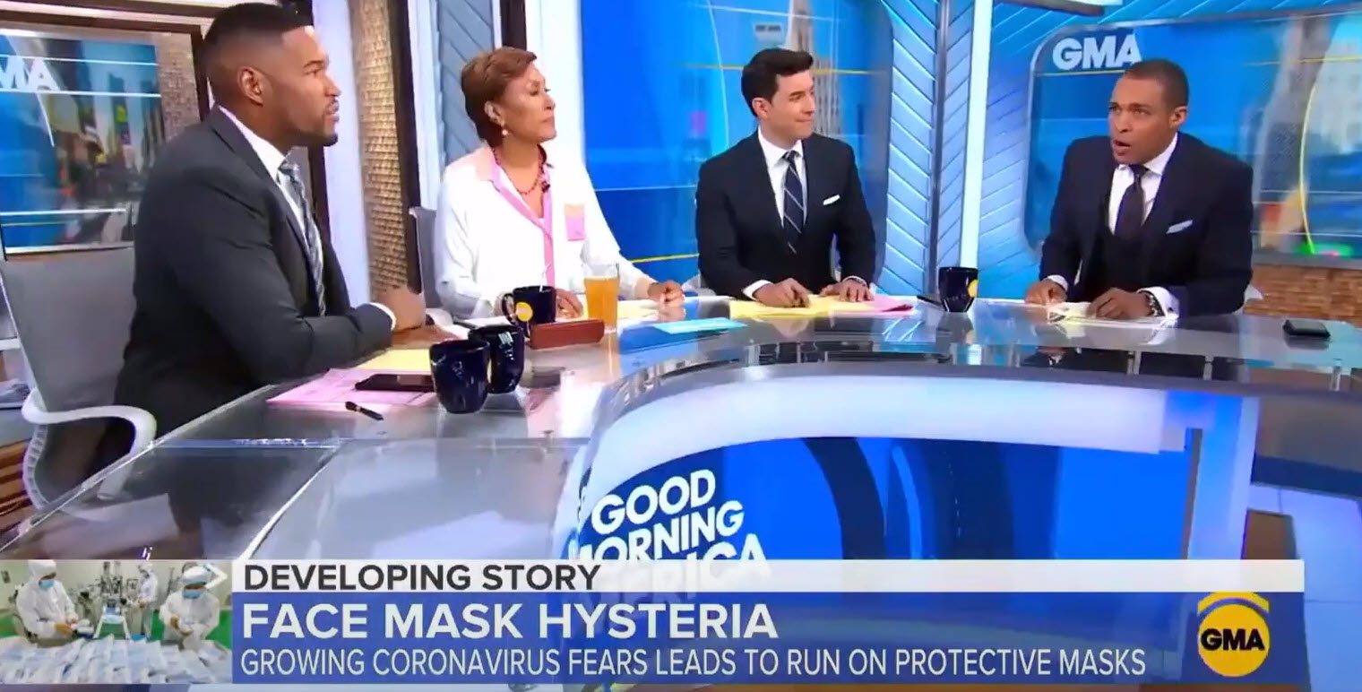 GMA on masks as Abbot reverses opinion