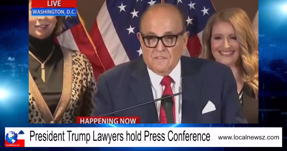 President Trump Lawyers conference