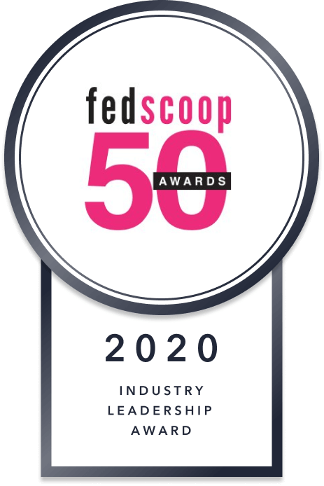 Fedscoop 2020 Industry Leadership Award