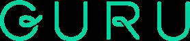 Guru logo white
