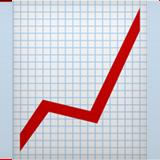 Chart with up arrow emoji