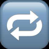 Arrow circle emoji