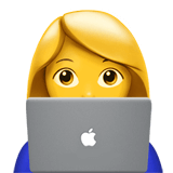 female technologist emoji