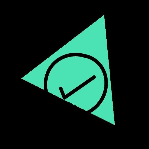 Checkmark doodle icon
