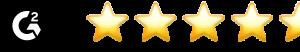Gartner star rating of 4.8/5