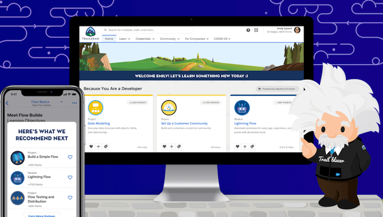 Salesforce Debuts AI-Powered Learning with Einstein Recommendations for Trailhead