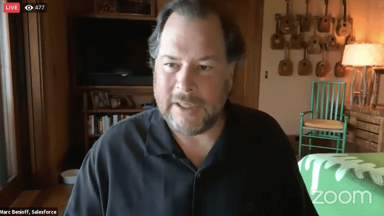 Salesforce Chair and CEO Marc Benioff Discusses Partnership with Rhode Island on Back to Work Initiative