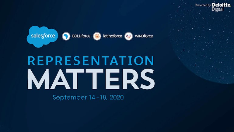 Watch Live: Representation Matters, Salesforce's Racial Equality Summit 2020