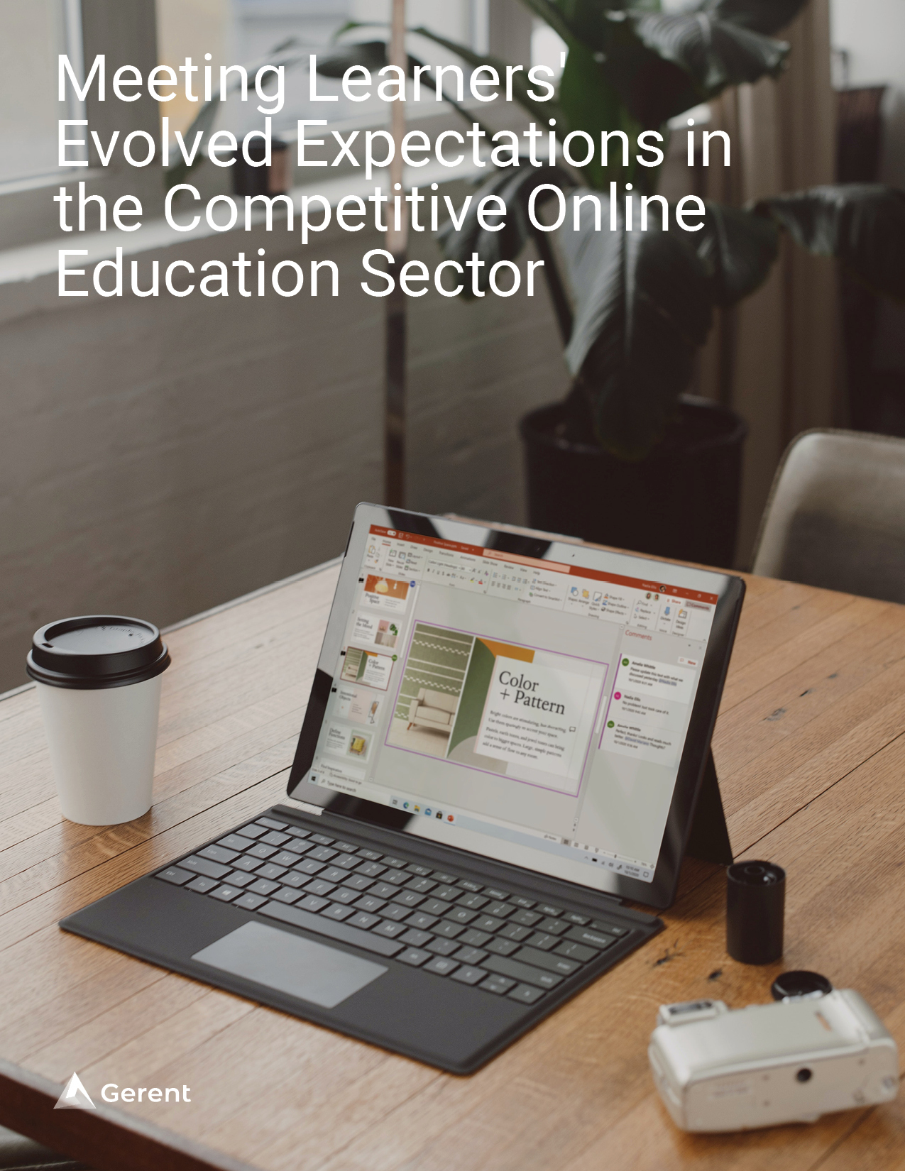 Meeting Learners' Evolved Expectations in the Competitive Online Education Sector