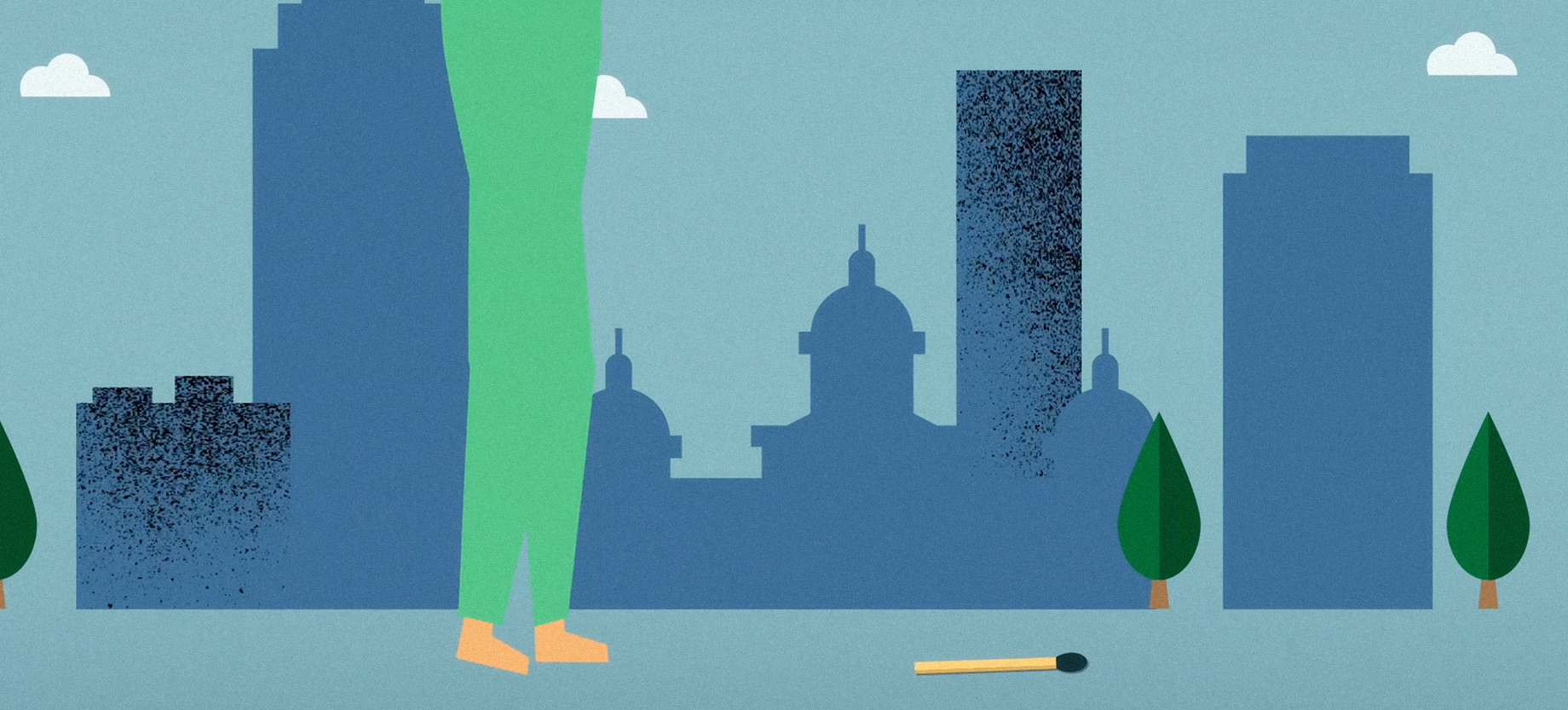 Des Moines Skyline Animation For Embarc