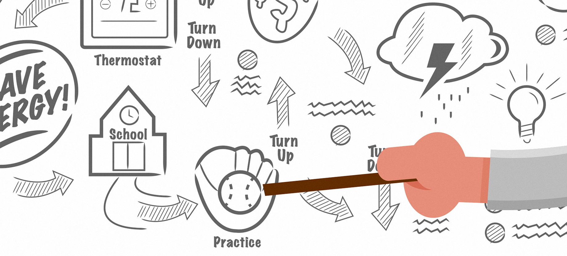 Illustration Animation For Power Hours
