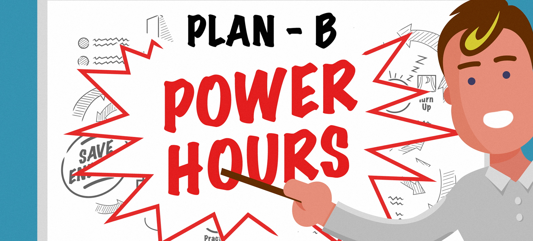 Commercial Animation For Power Hours