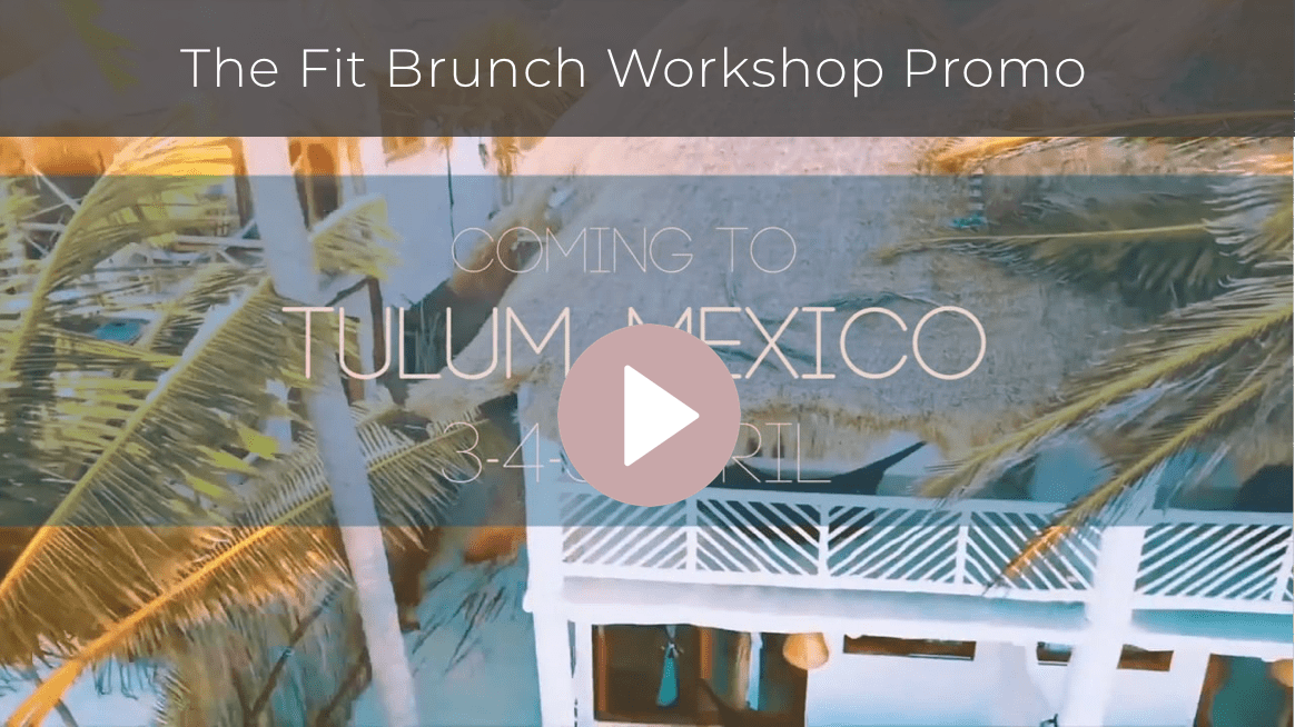 Food and Fitness workshop promo video