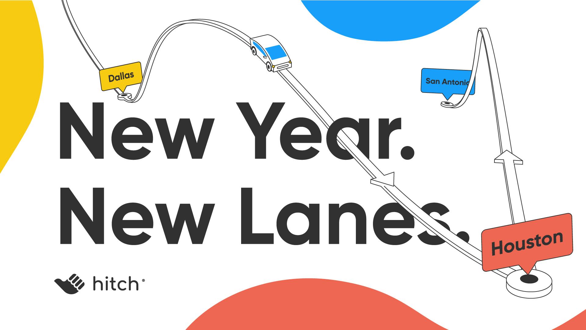 New lanes to travel from Houston to Dallas and Houston to San Antonio