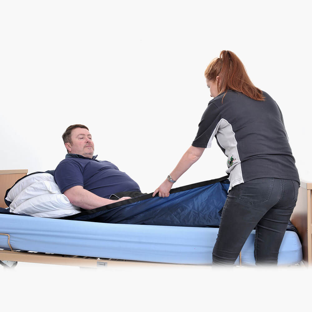 Person Into Bed System