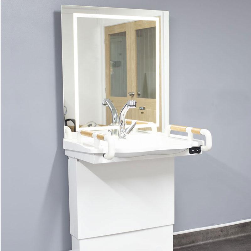 The Wave hi-lo wash basin