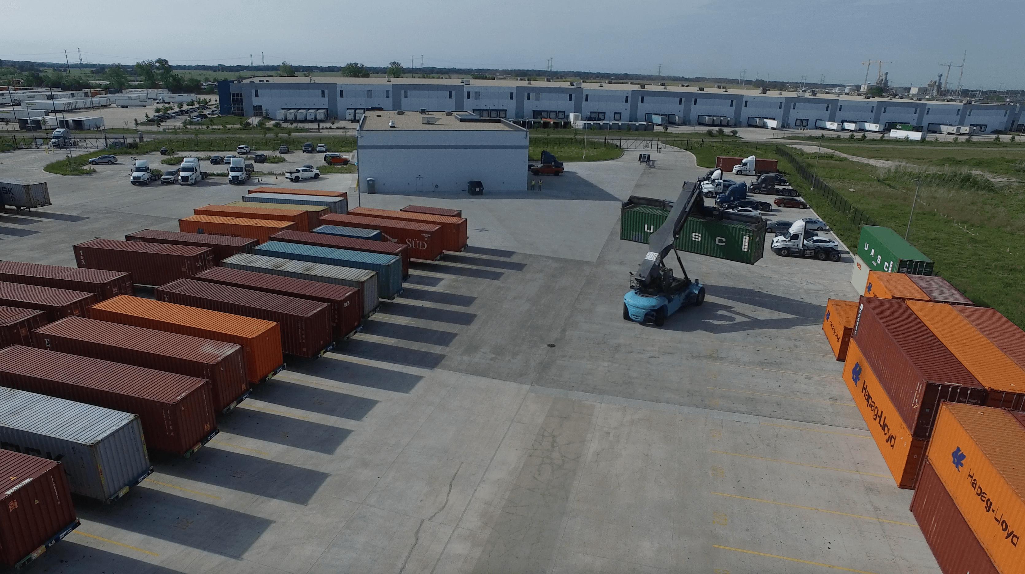 General Express Transloading Trucks