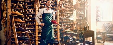 Ein Schuhmacher erzählt seine Erfolgsgeschichte