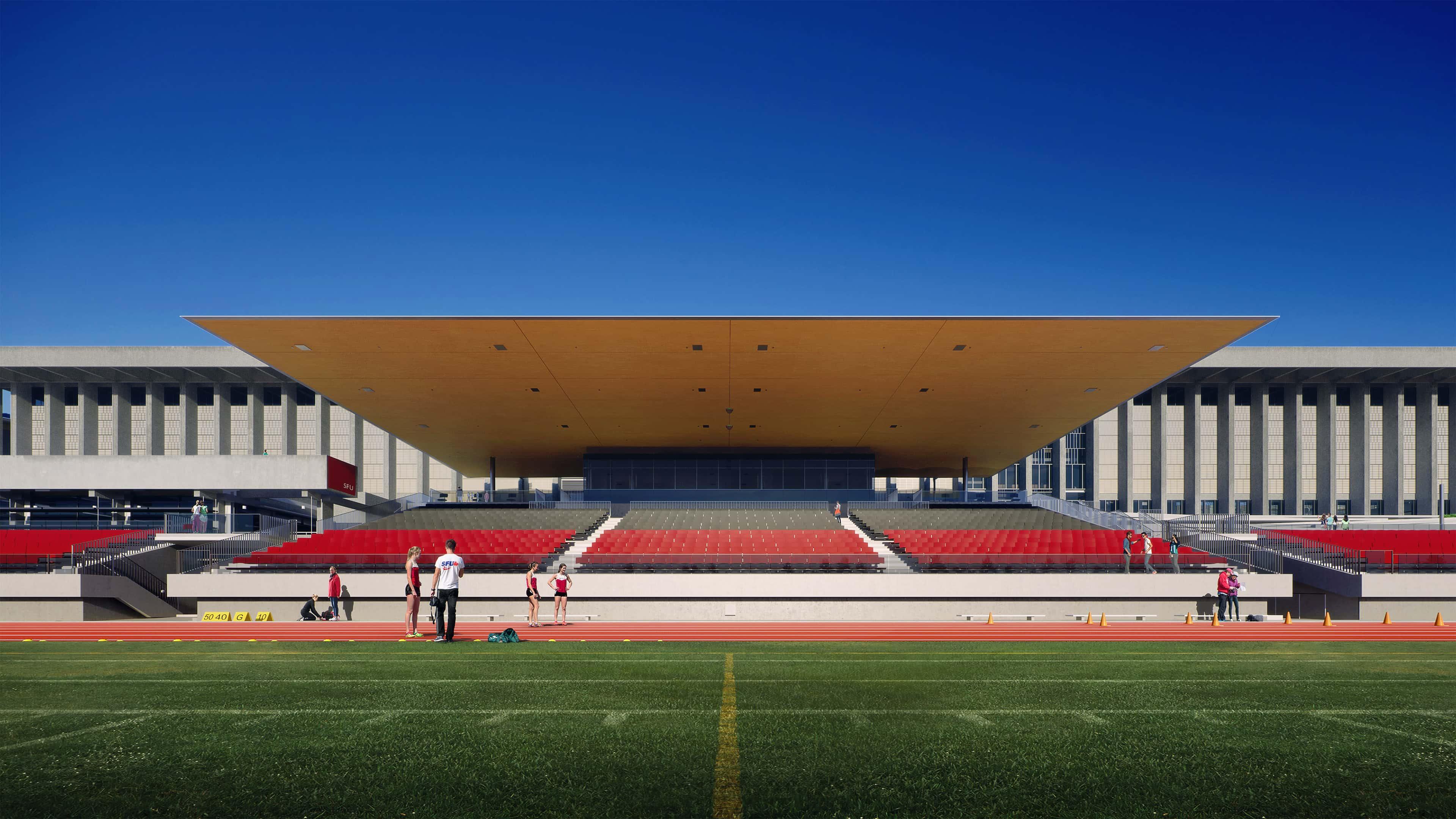 SFU stadium