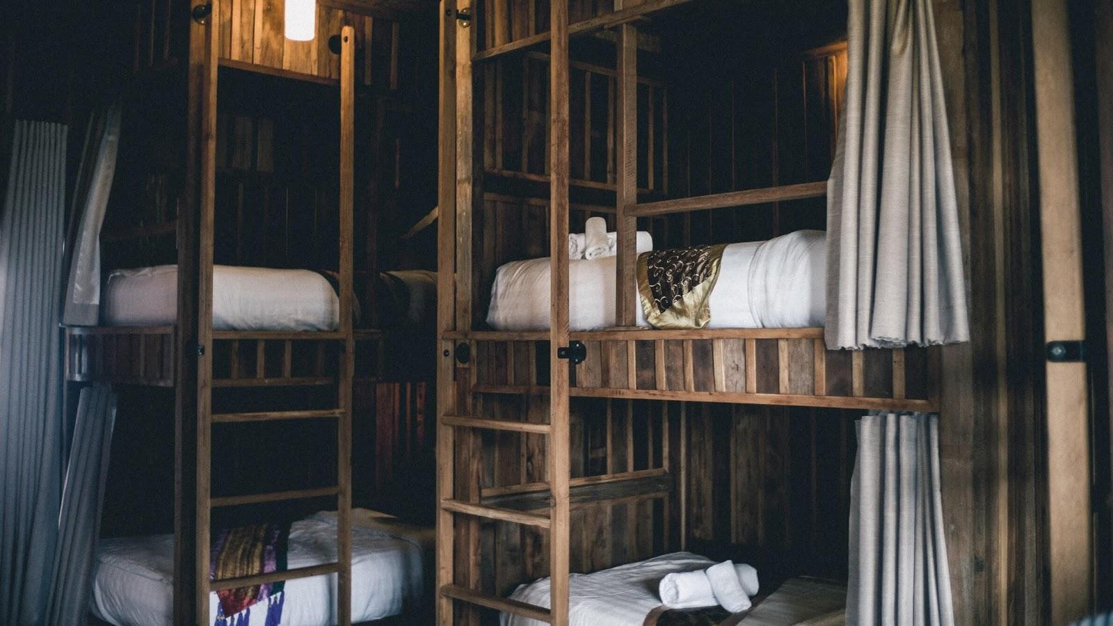A cozy looking hostel.