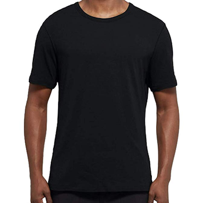 The Lululemon 5 Year Basic Tee in black.