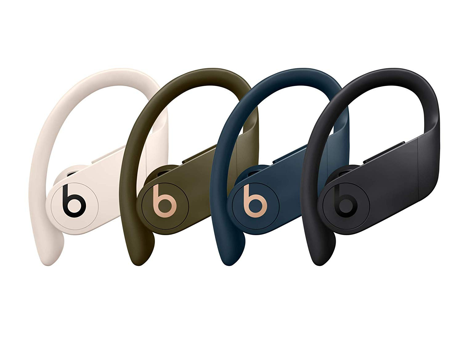 Powerbeats Pro in various colors.