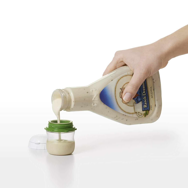 A small container designed to carry liquids.