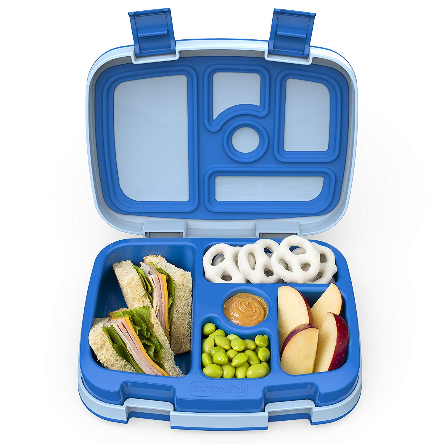 A heavy duty meal container for kids.