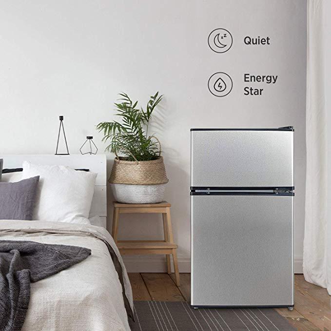 Every college student needs a mini fridge.