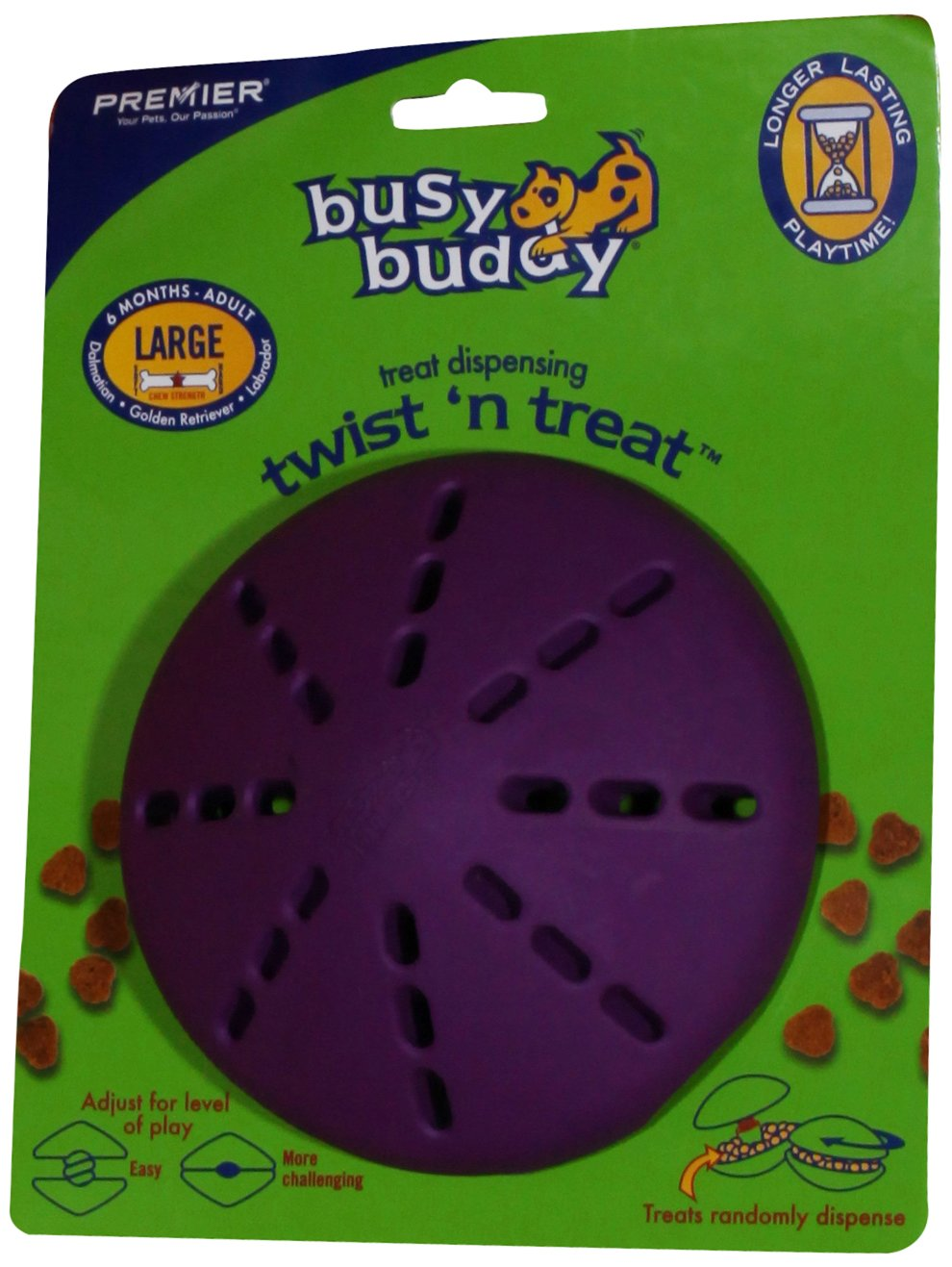 A dog toy designed to hide treats.