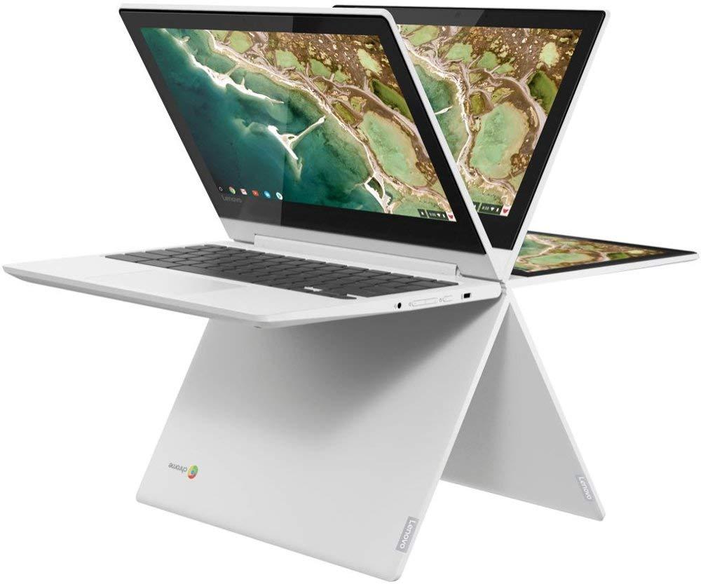 An image of the folding Lenovo Chromebook