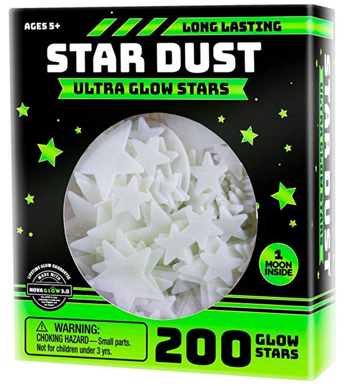 Glow in the dark stars.