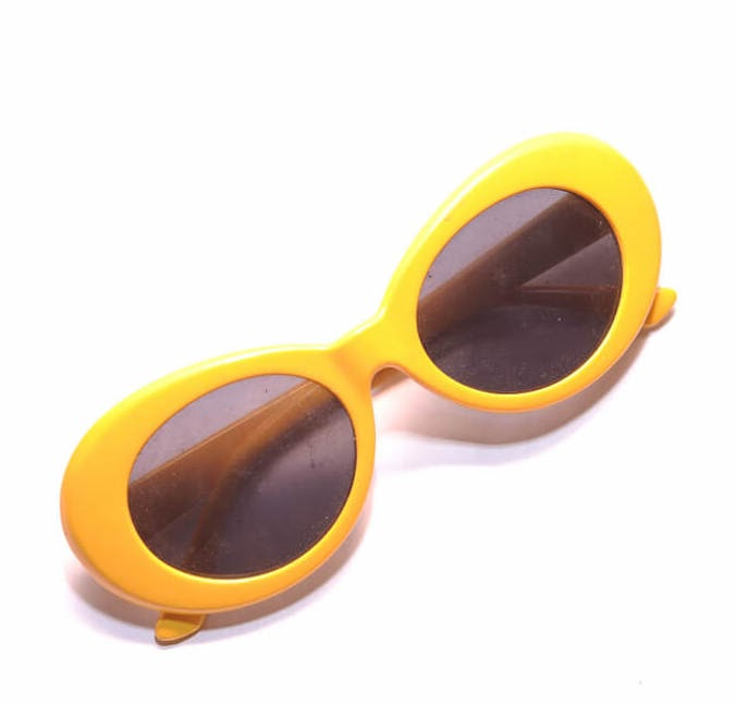 yellow clout goggles