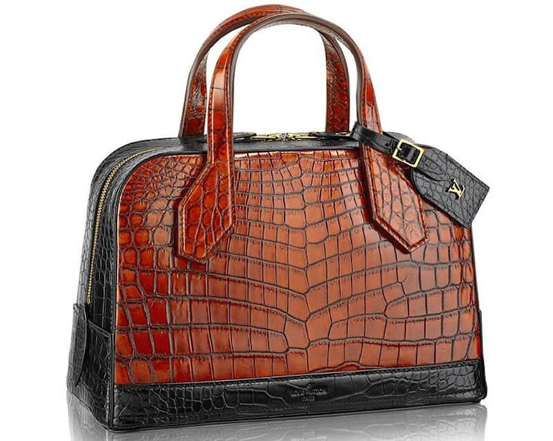 LV Crocodile Lady Bag PM
