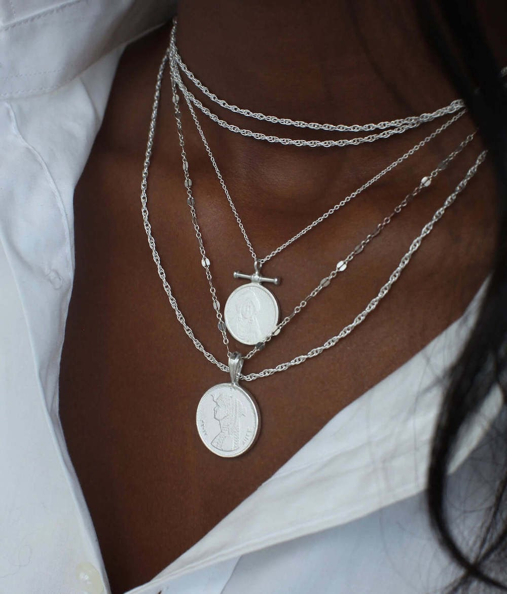 OmiWoods necklace stack