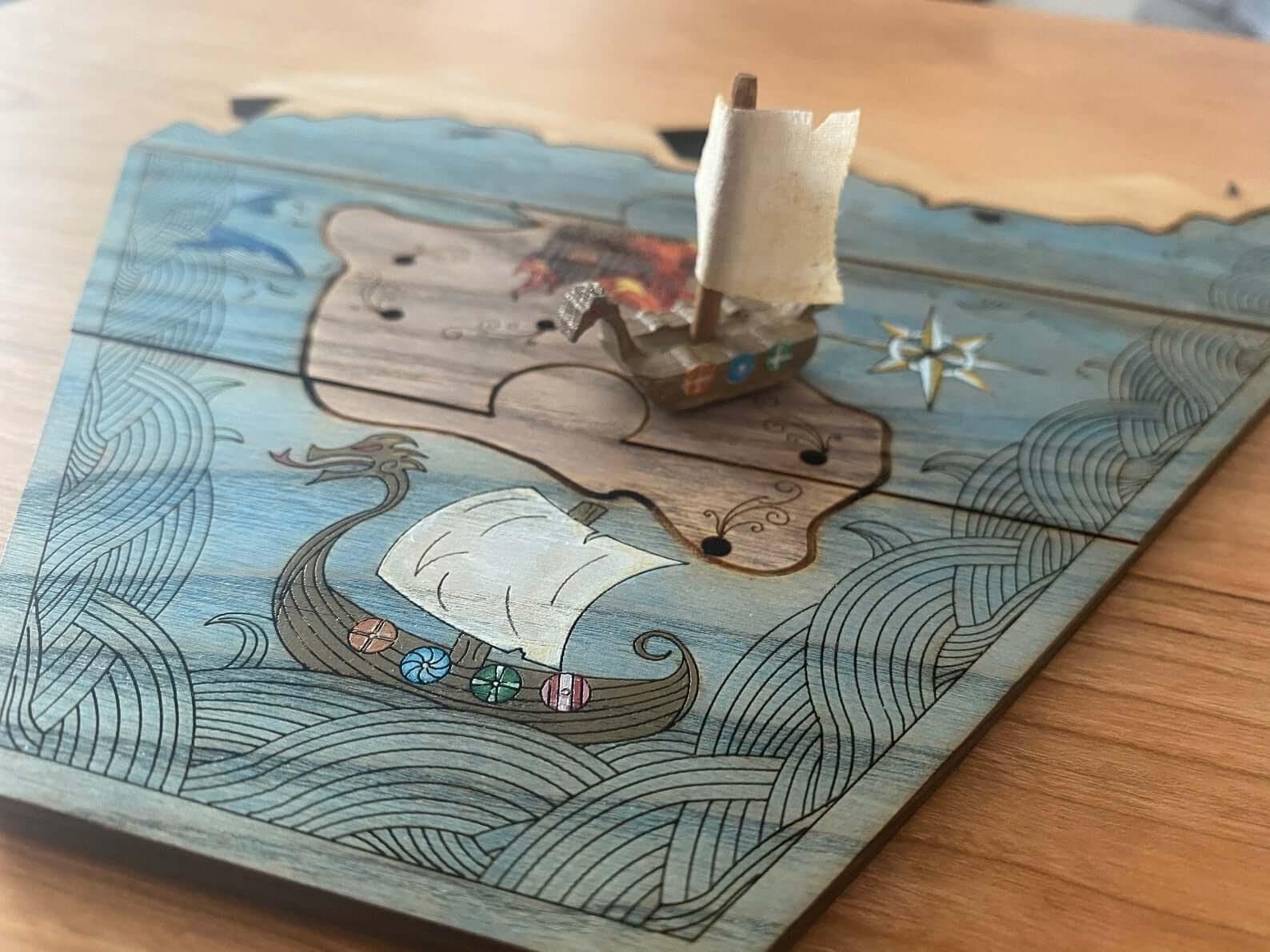 ThinkingMonk game board