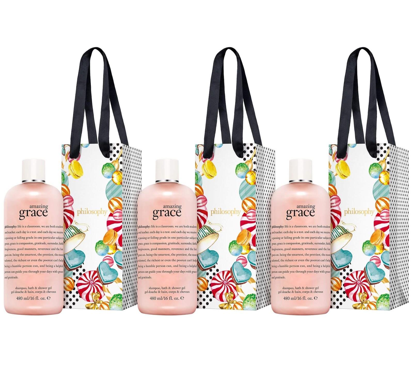 Philosophy Amazing Grace gift bags