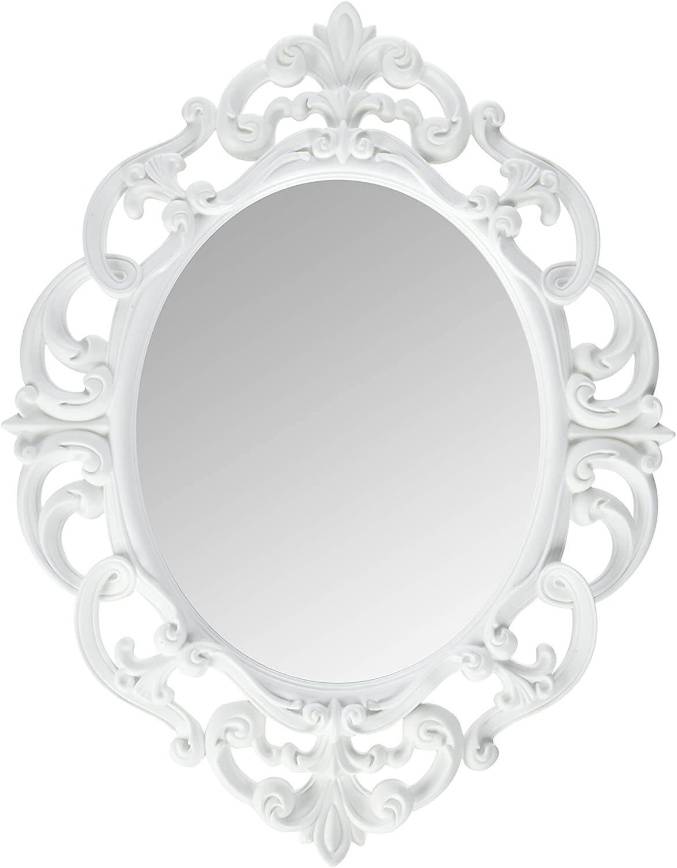 Oval Vintage Wall Mirror