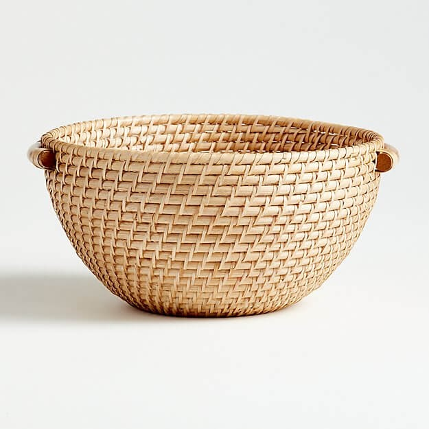 Artesia Natural Rattan Bowl