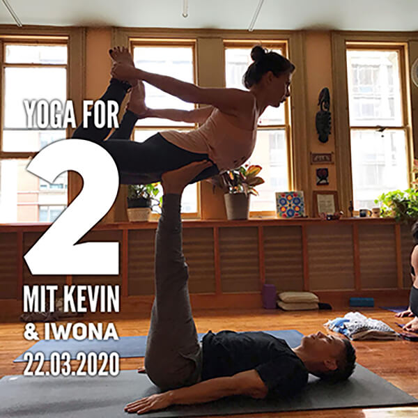 Yoga for 2 mit Kevin & Iwona
